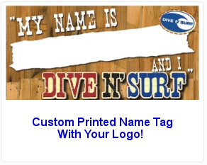 Name tags express name tags name badges luggage tags more a custom printed name tag printed with your logo no personalization magnetic option available solutioingenieria Images