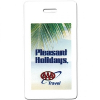 Pilgrim Golf Bag Tag Write-on Back 4 Color Digital Print