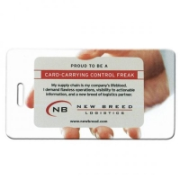 Pilgrim Luggage Tag: Insert-A-Card Express Service